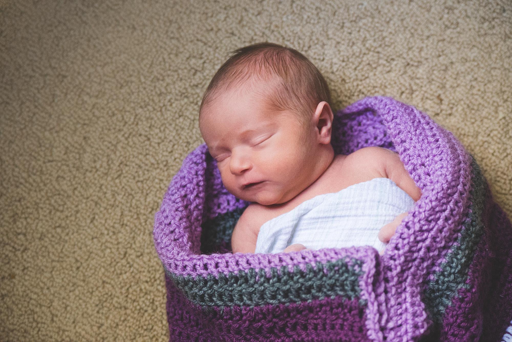 newborn-girl-purple-crochet-blanket-lifestyle