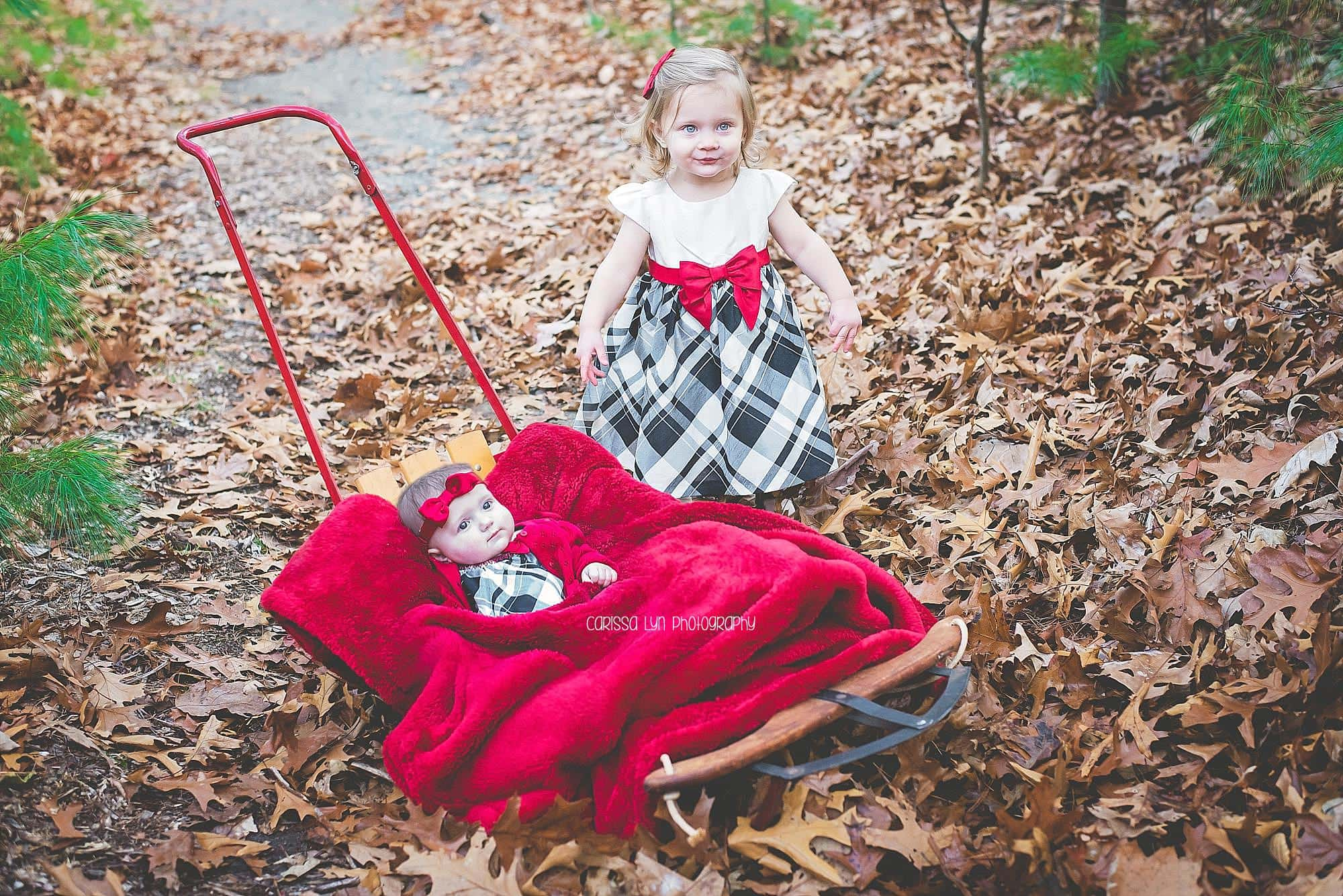 holiday-minis-sisters-red-sled