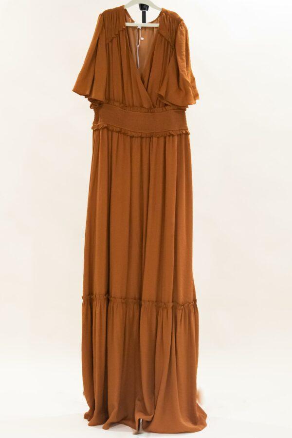 Brown Boho Dress L-XL
